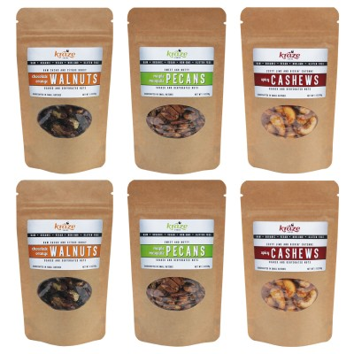 Raw Flavored Nuts 1oz-multi-pack