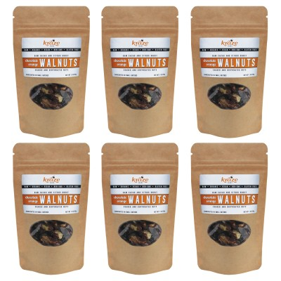 Raw Chocolate Orange Walnuts Snack Pack