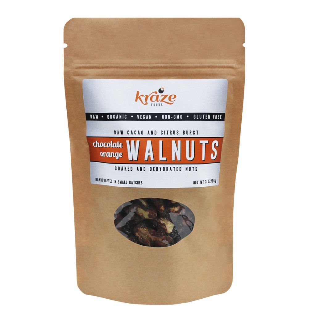 Chocolate Orange Walnuts Kraze Foods